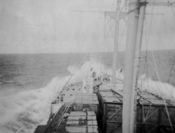 Rough Seas Over The Bow