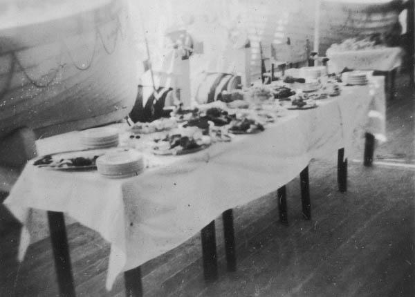 Hors De'oeuvres on Deck