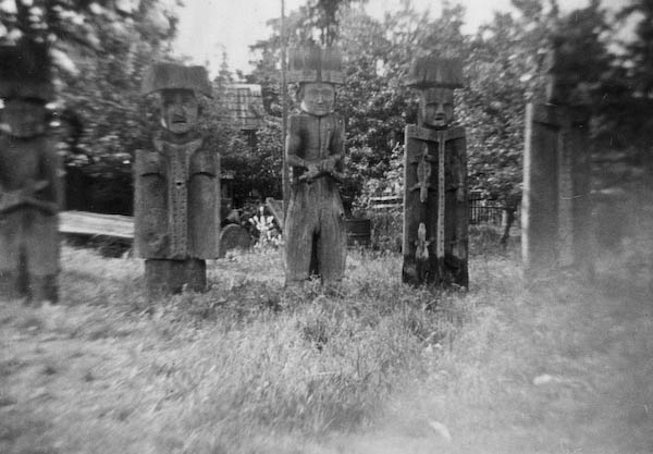 Genvine Totem Poles