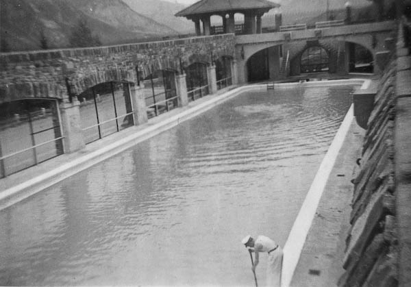 Closer View Of Hot Pool