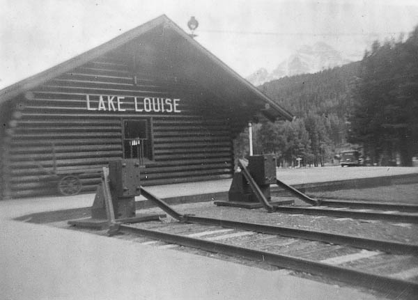 Railway Station, Lake Louis