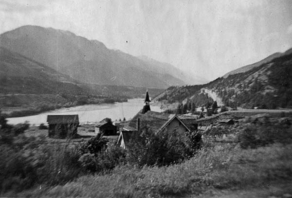Lytton - Junction of Thompson and Fraser Rivers