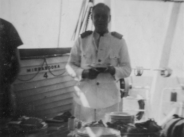 Captain Beijbom - it was his wedding anniversary