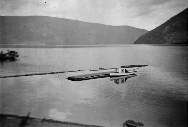 "Across Lake Skawsup from ""Sicamors"""